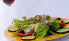 Free Fresh  Salad,croutons,lettu Royalty Free Stock Photography - 2948867