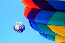 A Balloon Festival Royalty Free Stock Images