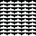 Free Black And White Wavy Pattern Stock Photo - 29404940