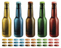 Free Frosted Beer Bottles Stock Photos - 29409233