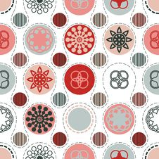Free Red Grey Circles Background Royalty Free Stock Image - 29402006