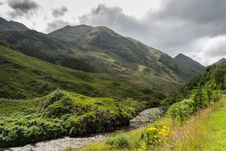 Free Highland Mountain In Scotland Royalty Free Stock Photo - 29406055