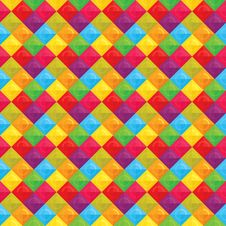Free Geometric Multicolor Pattern Royalty Free Stock Photography - 29406517