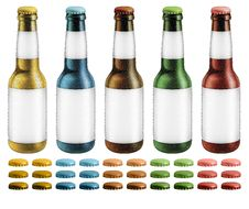 Free Beer Bottles Royalty Free Stock Images - 29409209