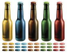 Free Beer Bottles Royalty Free Stock Images - 29409269