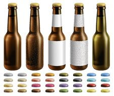Free Beer Bottles Stock Image - 29409271