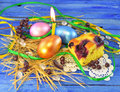 Free Easter Eggs With Cake Stock Photos - 29410103