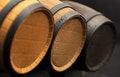 Free Three Barrels Royalty Free Stock Photos - 29411838
