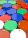 Free Oil Barrels. Stock Photo - 29413300