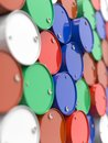Free Oil Barrels Stacked Up. Stock Photos - 29413323