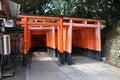 Free Tori Gates At Fushimi Inari Shrine In Kyoto, Japan. Stock Photos - 29418833
