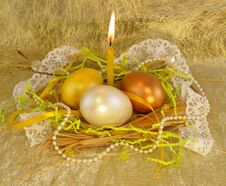 Free Gold Easter Stock Image - 29410201
