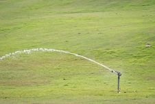 Water Sprinkler Stock Photography