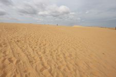 Hill In The Desert, Central Vietnam Royalty Free Stock Images