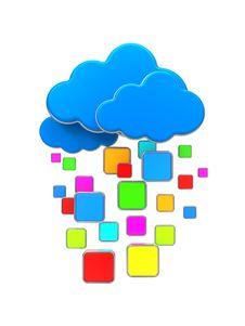 Free Cloud Computing Concept. Stock Photos - 29412913