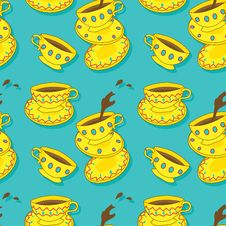 Free Caps Of Coffee And Tea Stock Images - 29414664
