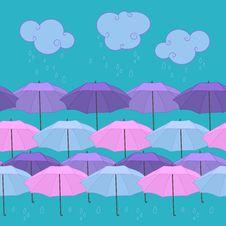Free Rain And Umbrellas Stock Photos - 29414683