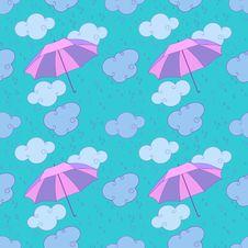Free Rain And Umbrellas Royalty Free Stock Photo - 29414685