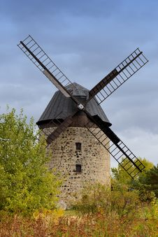 Free A Historic Windmill From Stones Stock Photo - 29415670