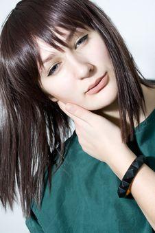 Free Portrait Of Beautiful Female Model Stock Images - 29417774