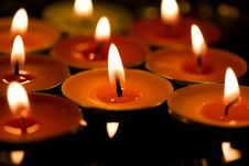 Free Lights Or Candles Royalty Free Stock Photo - 29417815