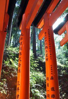 Free Fushimi Inari, Kyoto, Japan Stock Images - 29419524