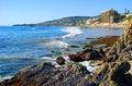 Free Laguna Beach Coastline South Of The Main Beach Area Royalty Free Stock Image - 29444756