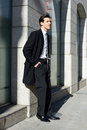 Free Attractive Young Businessman In Urban Background Royalty Free Stock Images - 29444899
