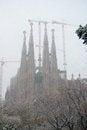 Free Sagrada Familia Royalty Free Stock Photos - 29446678