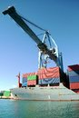 Free Container Ship And Crane Royalty Free Stock Images - 29449749