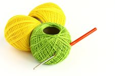 Free Set For Knitting Royalty Free Stock Photography - 29442457