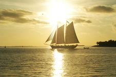 Free Sailing And Sunset Stock Photos - 29443603