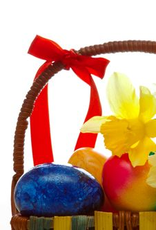 Free EASTER BASKET. Stock Photo - 29446570