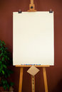 Free Wooden Easel Stock Photo - 29450300