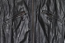 Free Black Leather And Zippers Royalty Free Stock Images - 29458109