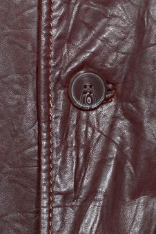 Free Brown Leather And Button Stock Photos - 29458183