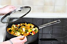 Free Vegetarian Cooking Stock Photography - 29458322