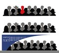Free Set Of Banners With Crowd Stock Image - 29460261
