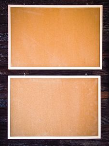 Free Wooden Blank Board Royalty Free Stock Photos - 29465128