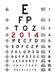 Free Eye Chart I Royalty Free Stock Photography - 29472687