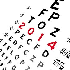 Free Eye Chart Royalty Free Stock Photo - 29472695