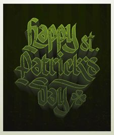 Free Happy St. Patricks Day Card Royalty Free Stock Images - 29474889