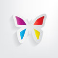 Free Paper Butterfly, Concept Background Royalty Free Stock Photos - 29481318