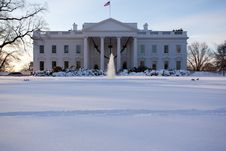 Free The White House Royalty Free Stock Photo - 29484605