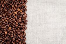Free Coffee Beans Background Stock Photography - 29489962