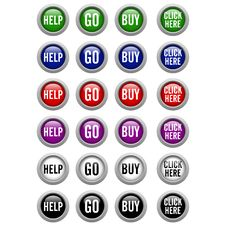 Free Other Buttons Royalty Free Stock Photo - 29489985