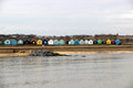 Free Southwold Beach Huts Royalty Free Stock Image - 29490206