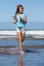Free Running Girl Stock Image - 29493991