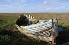 Free Abandoned Fishing Boat Royalty Free Stock Images - 29490129