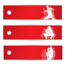 Free Baseball Banners Stock Image - 29491391